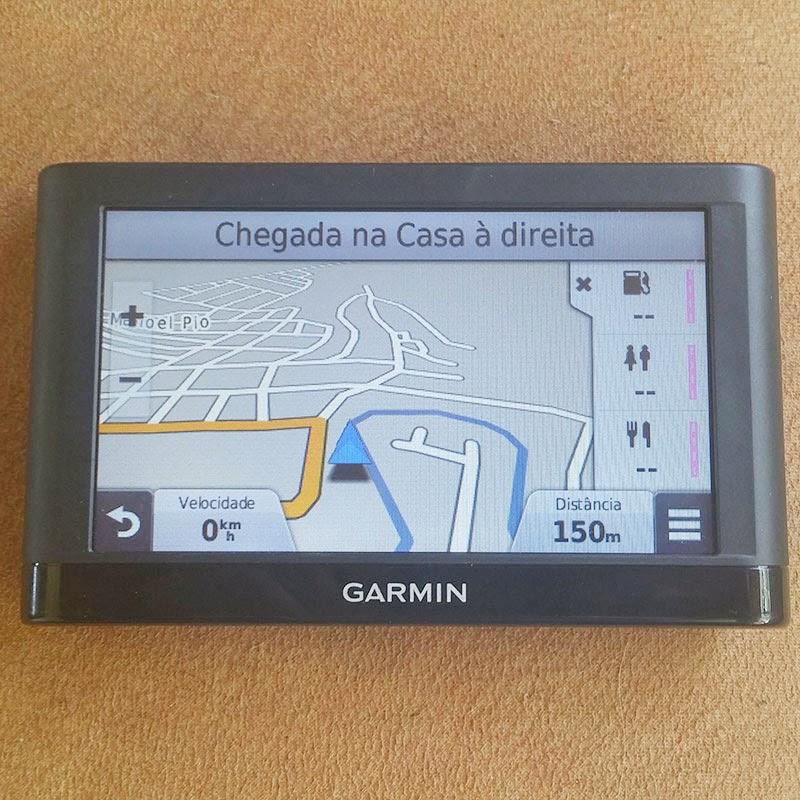 GPS Garmin.