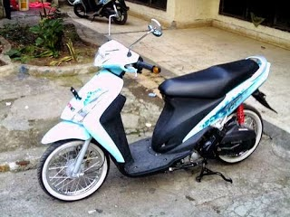 Photo Modification Suzuki Spin 125