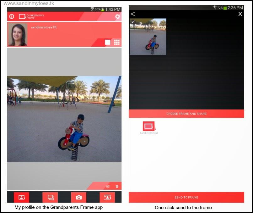 Grandparents Frame app review