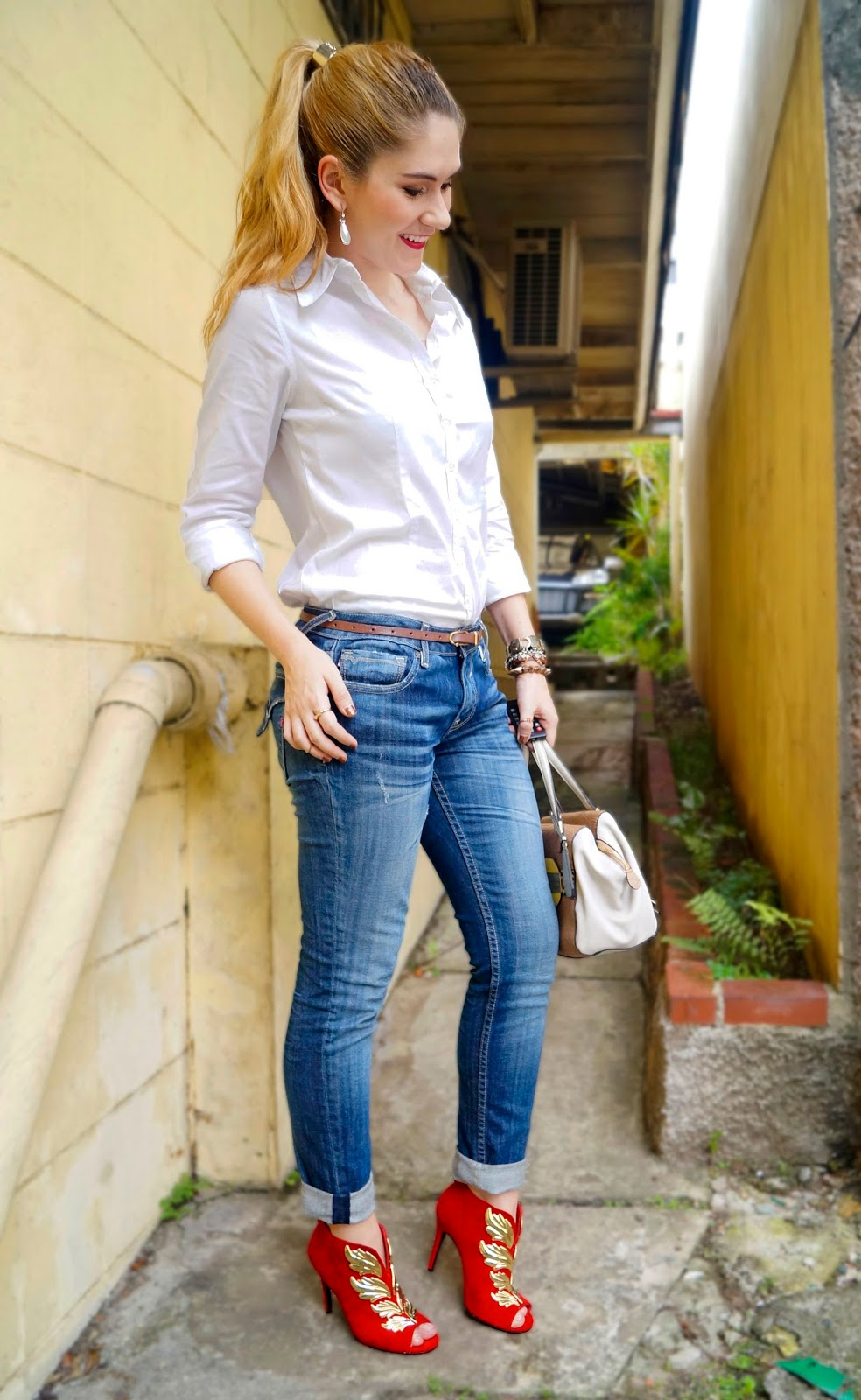 Easy Outfit with Jeans