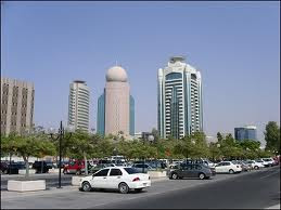 DUBAI CITY VIEW BY TRAIN