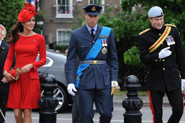 Duke & Duchess & Prince Harry