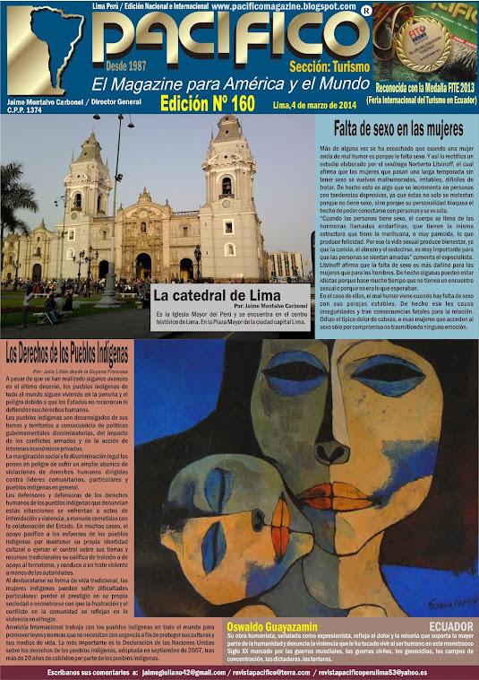 Revista Pacífico Nº 160 Turismo