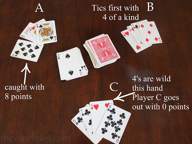 graphic regarding Printable Tenzi Cards identify How toward perform the card video game \