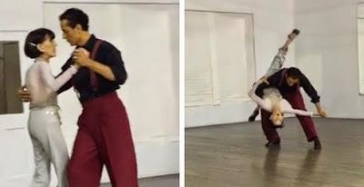 92χρονη χορεύει τάνγκο καλύτερα από επαγγελματία χορευτή