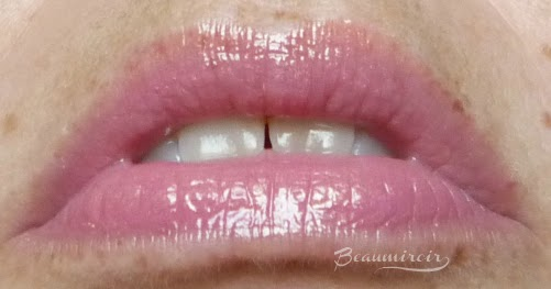 Revlon Ultra HD Lip Lacquer gloss in Citrine: lip swatch