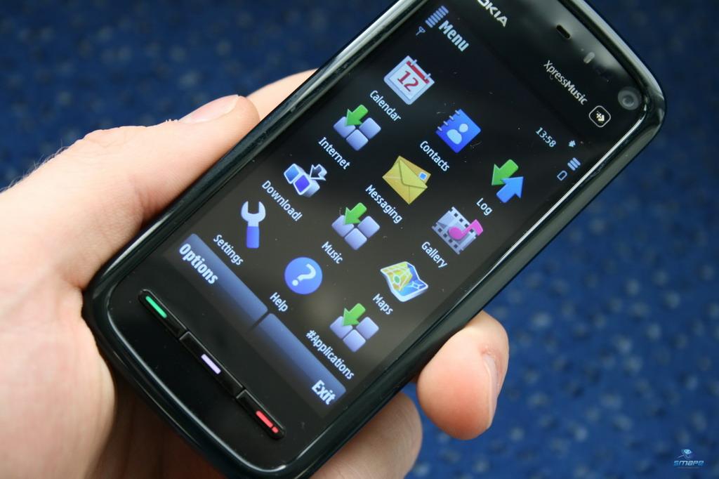 mobile phones: nokia 5800
