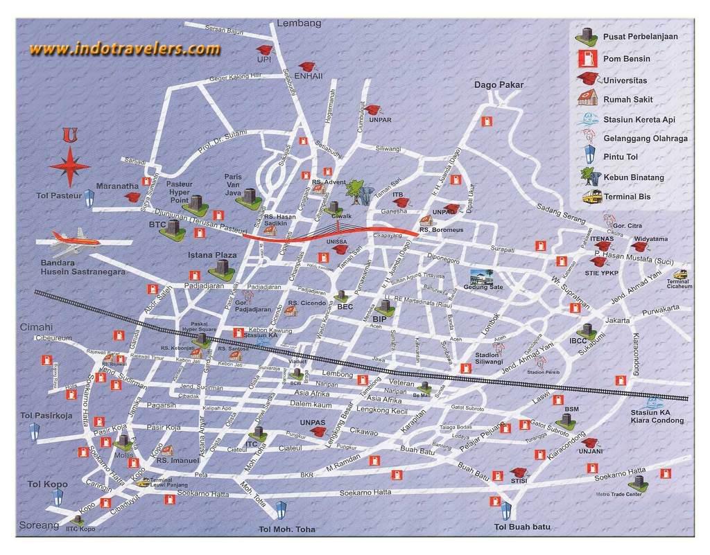 Peta Jakarta Pusat