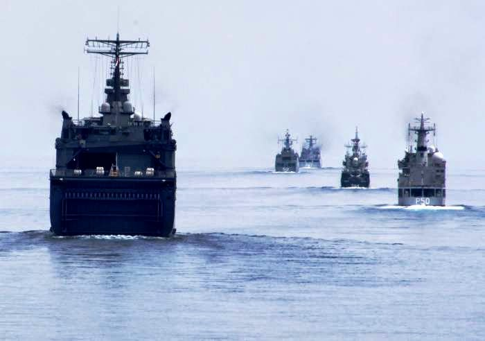 Latihan Perang AS-Filipina Panaskan Laut China Selatan