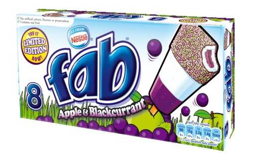 Review - Limited Edition Fab Ice-Lolly