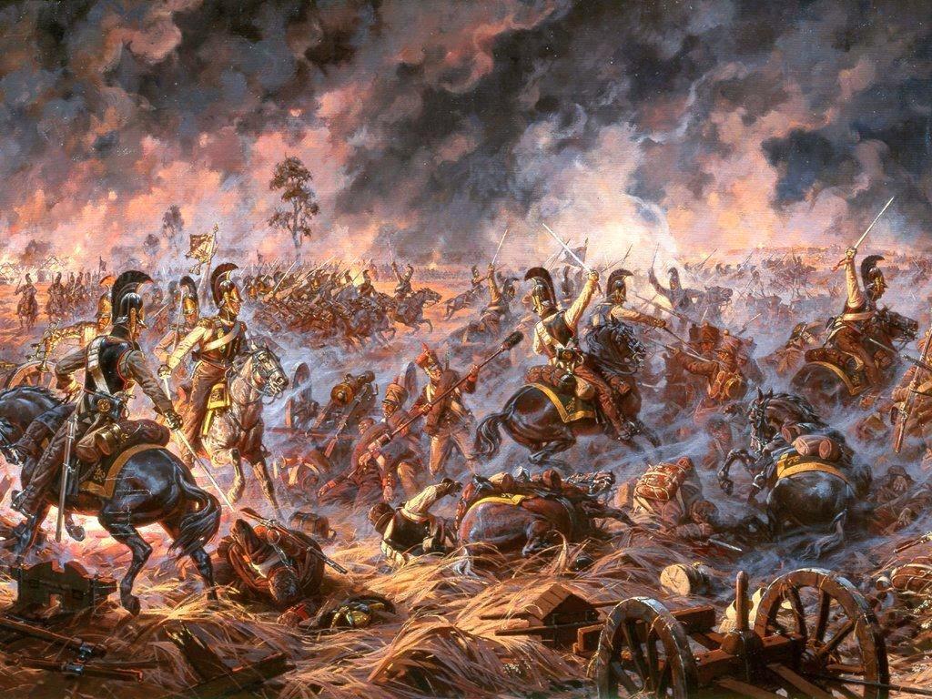 Averyanov Alexander paintings of war scenes tOOns MaG