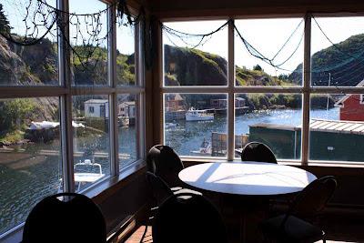 Ausblick vom Tasting Room der Quidi Vidi Brewery © Copyright Monika Fuchs, TravelWorldOnline