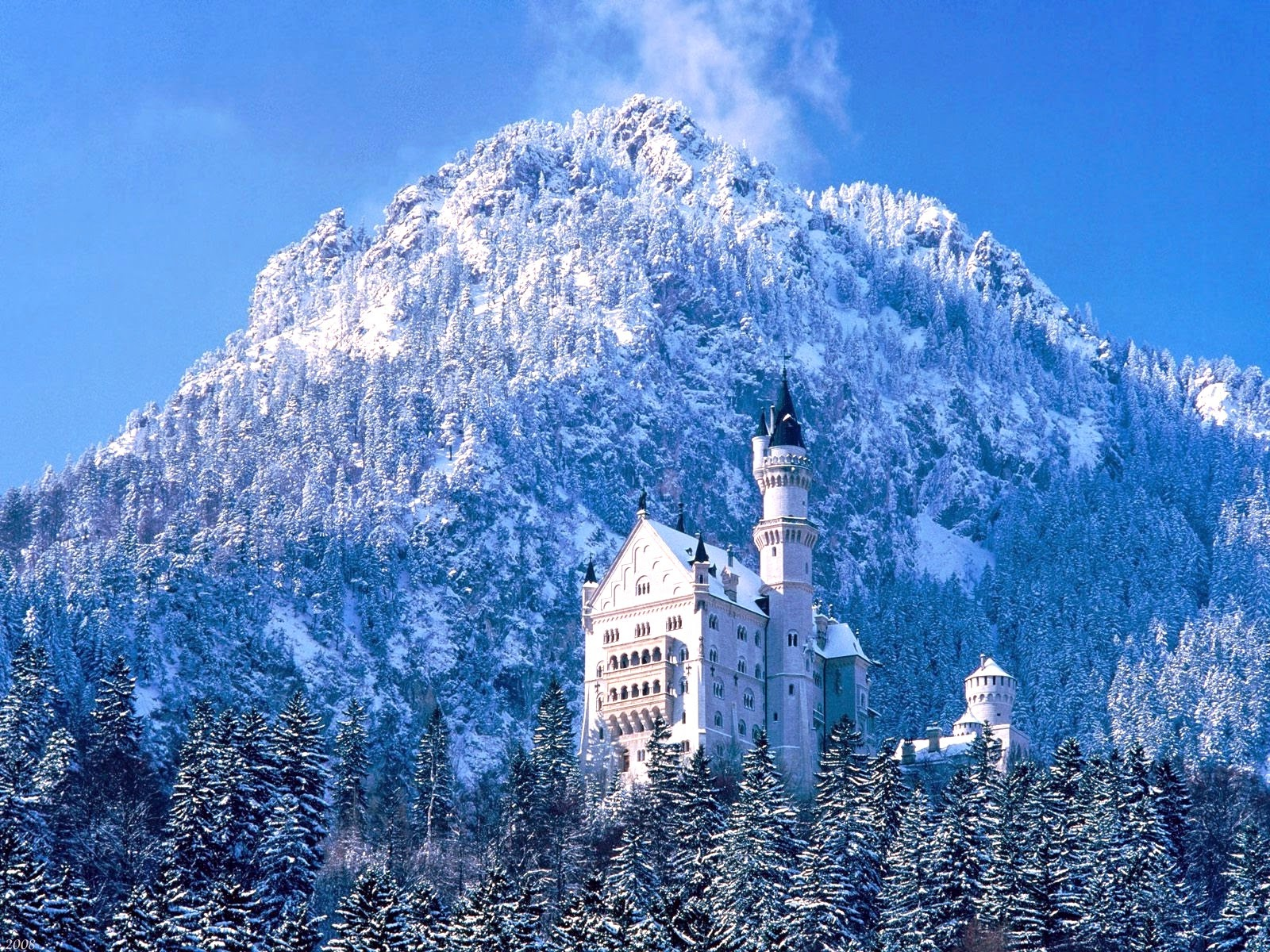 Pemandangan Salju Pemandangan Dunia Yang Cantik Dan Indah