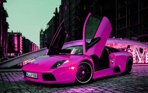 girly cars pink cars every women will love. Black Bedroom Furniture Sets. Home Design Ideas