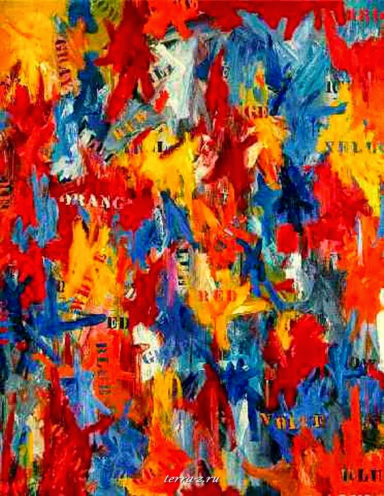 Jasper Johns False Start