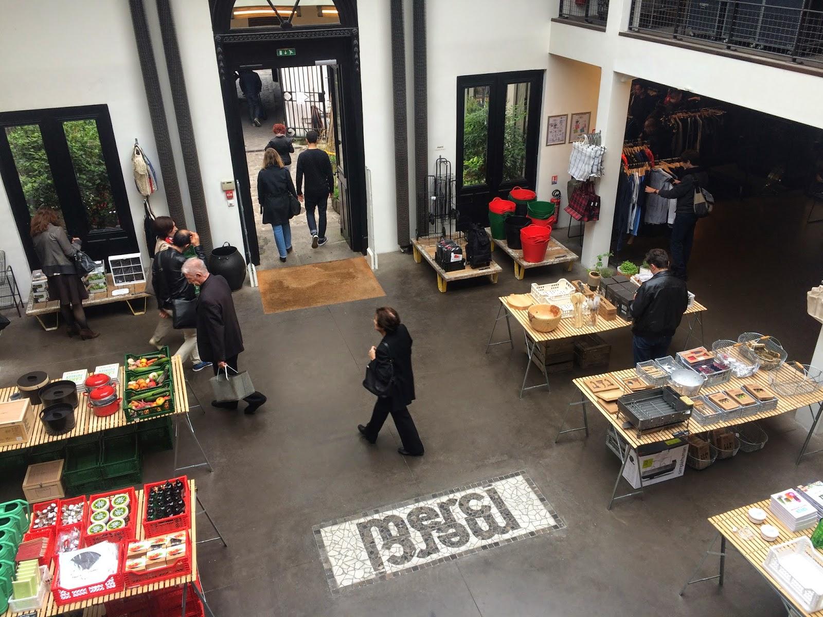 Say oui to paris may 2015 - Merci paris concept store ...