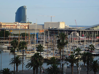 Vela Hotel and Port Vell in Barcelona