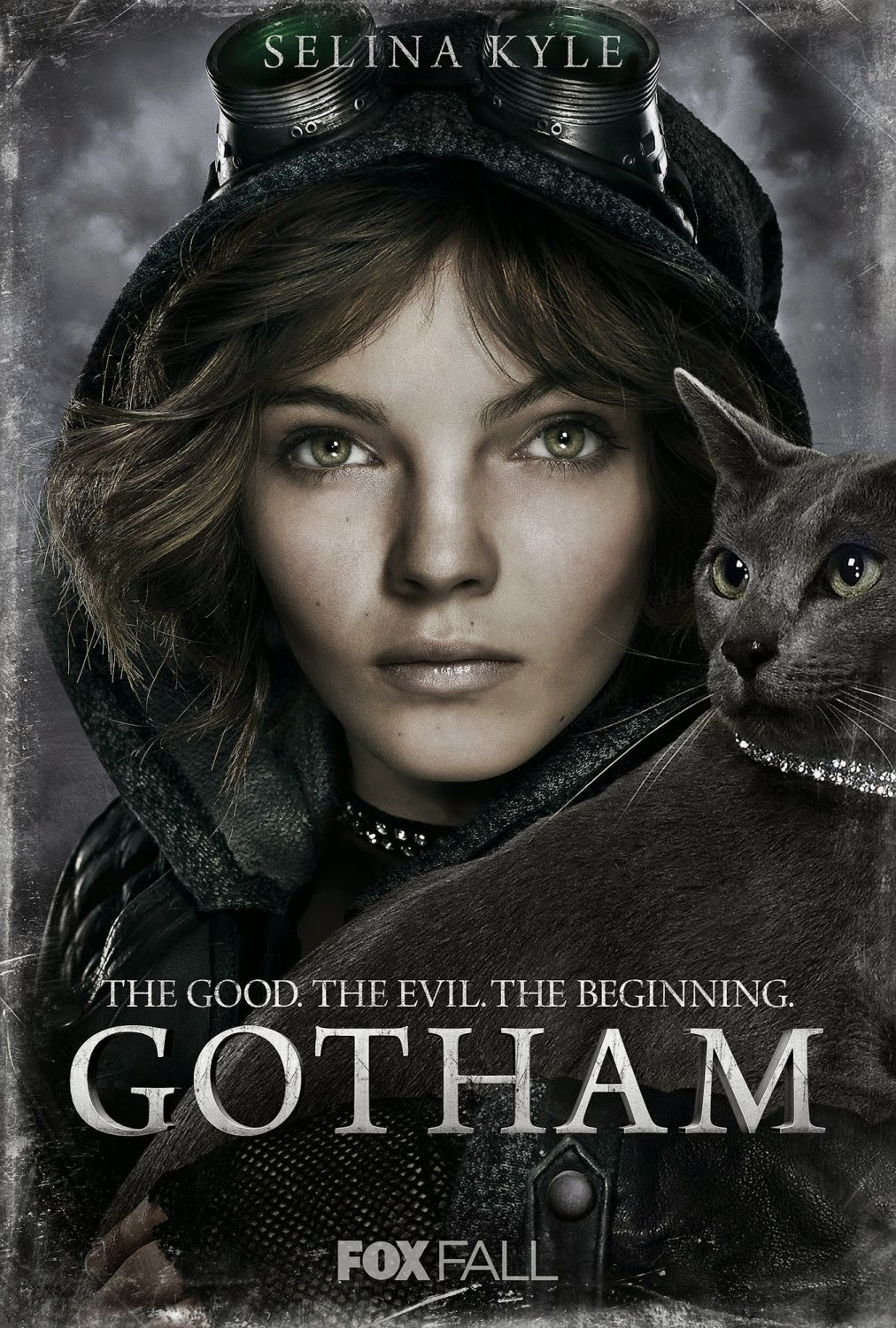 "Gotham ""The Good. The Evil. The Beginning."" Character TV Poster Set - Camren Bicondova as Selina Kyle-Catwoman"