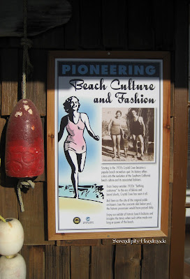 Beach Culture and Fashion, Crystal Cove, Serendipity Handmade