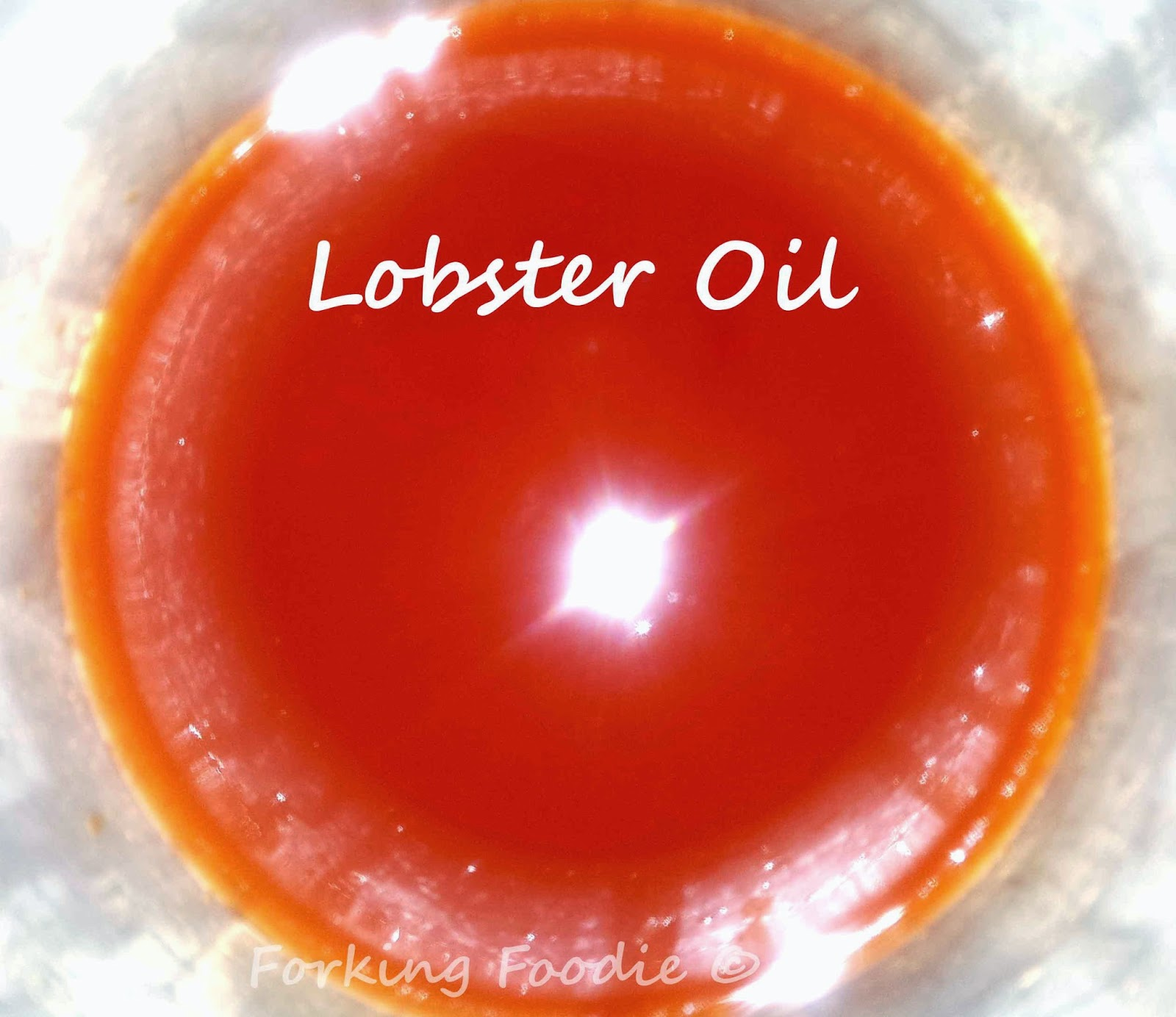 how to make lobster oil