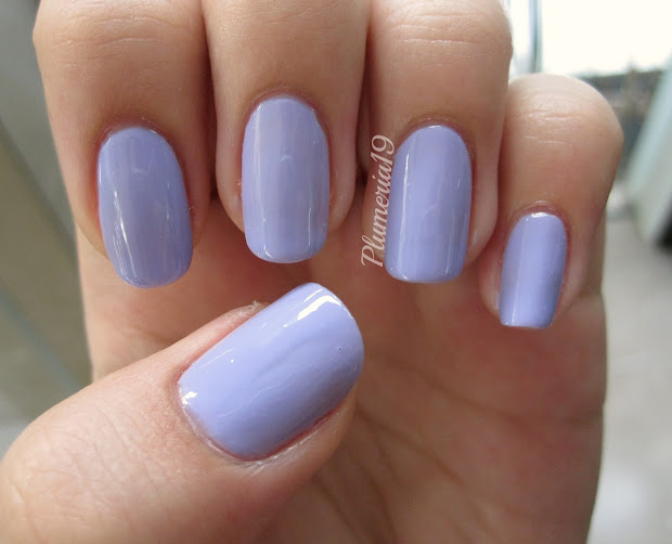 plumeriapainted purple nails