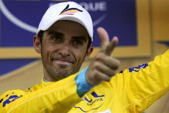 Contador 98º Tour de Francia 2011 del 02. al 24. de Juli con Contador, Schleck, Evans, Wiggins, Basso y Sánchez