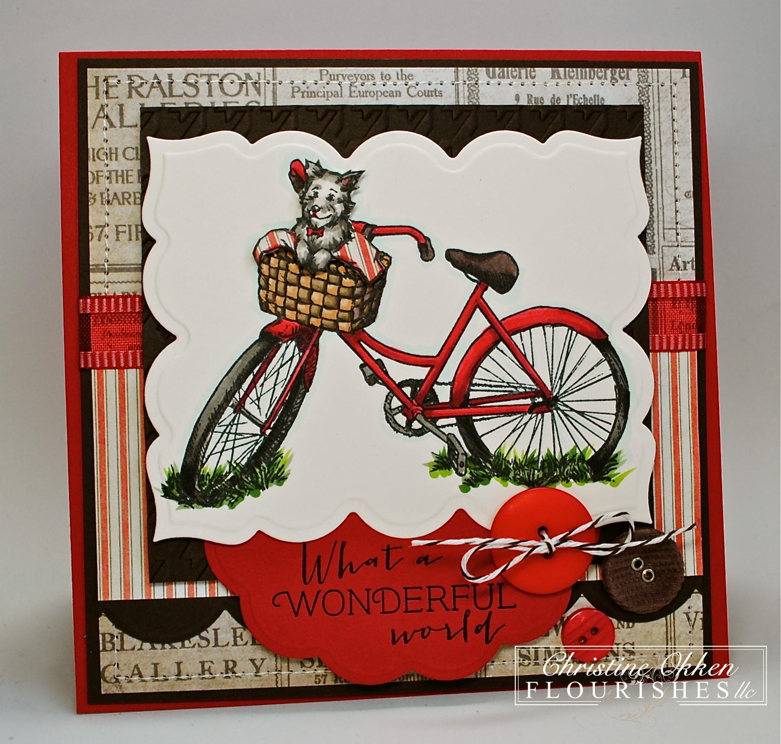 ChristineCreations: Toto\'s Bike Ride