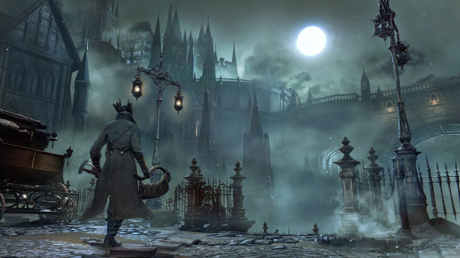 Wise words the most anticipated horror games of 2015 for Yharnam architecture