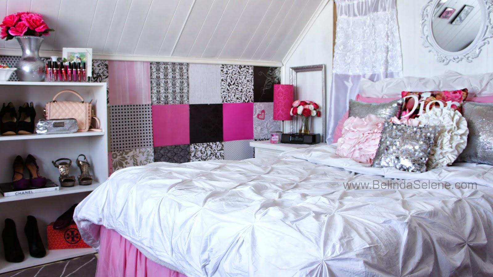 Belindaselene modern shabby chic room tour for Small room tour