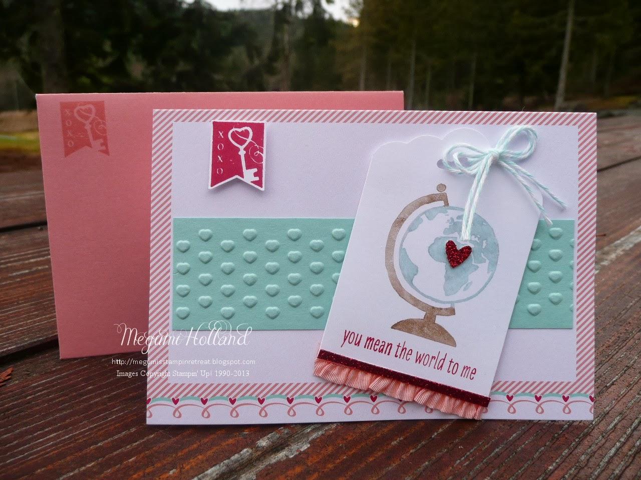 Megumis Stampin Retreat Stampin Up Sweet Sayings Cards Envelopes