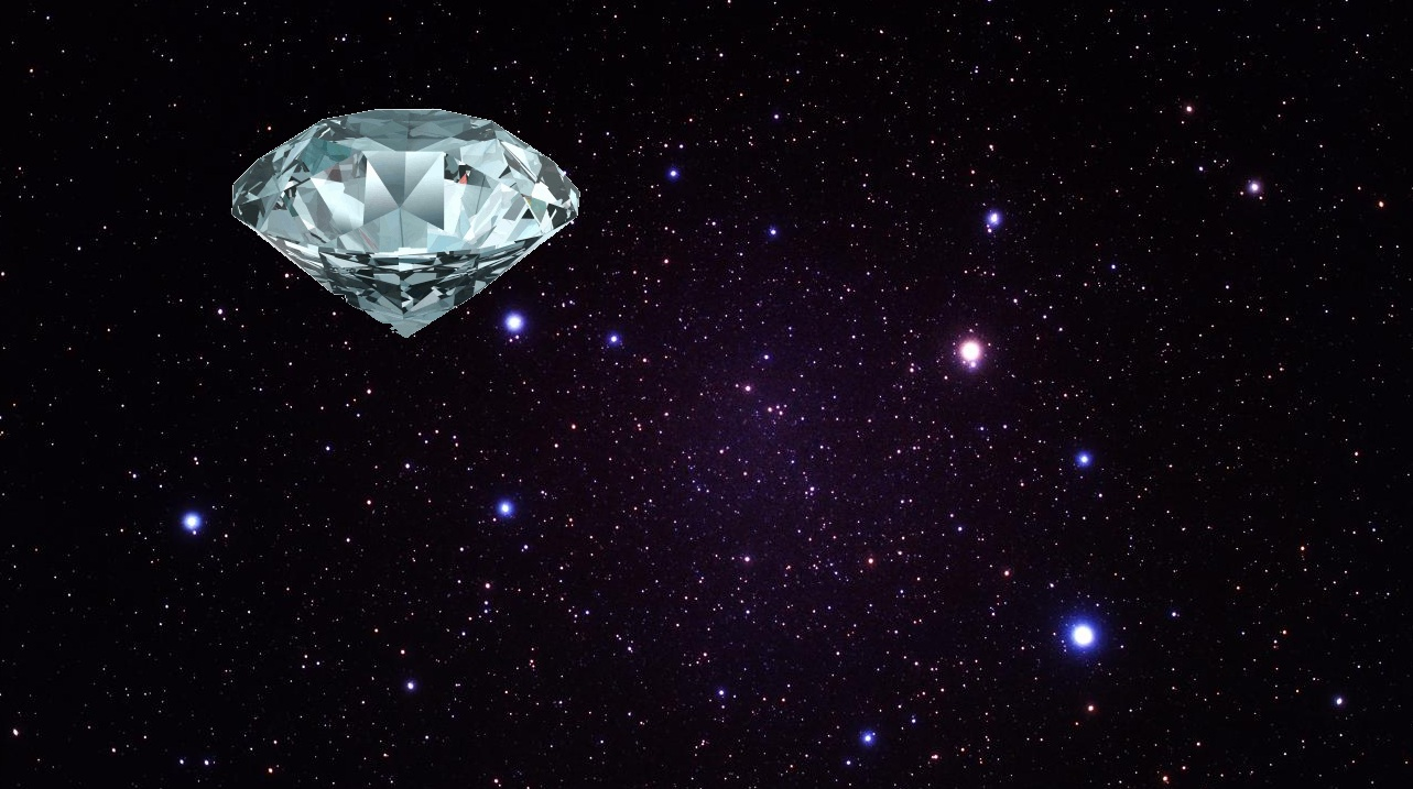 There S A Gigantic Diamond In Outer Space Learner Hall Ȳ�經誠誌