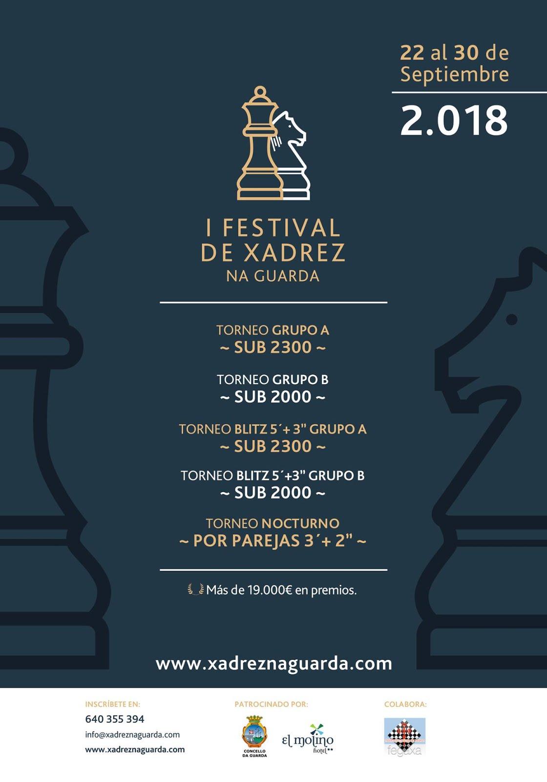 I Festival de xadrez Na Guarda