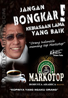 Iwan Fals Kopi TOP Coffee markotop