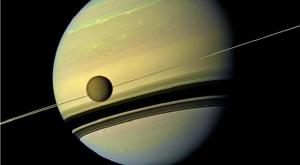 Saturno e Titã