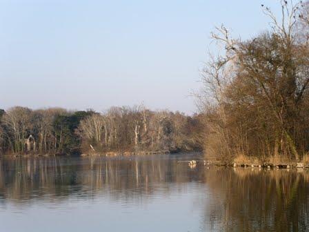 Wanderland austria schlosspark laxenburg for Goldfischteich im winter