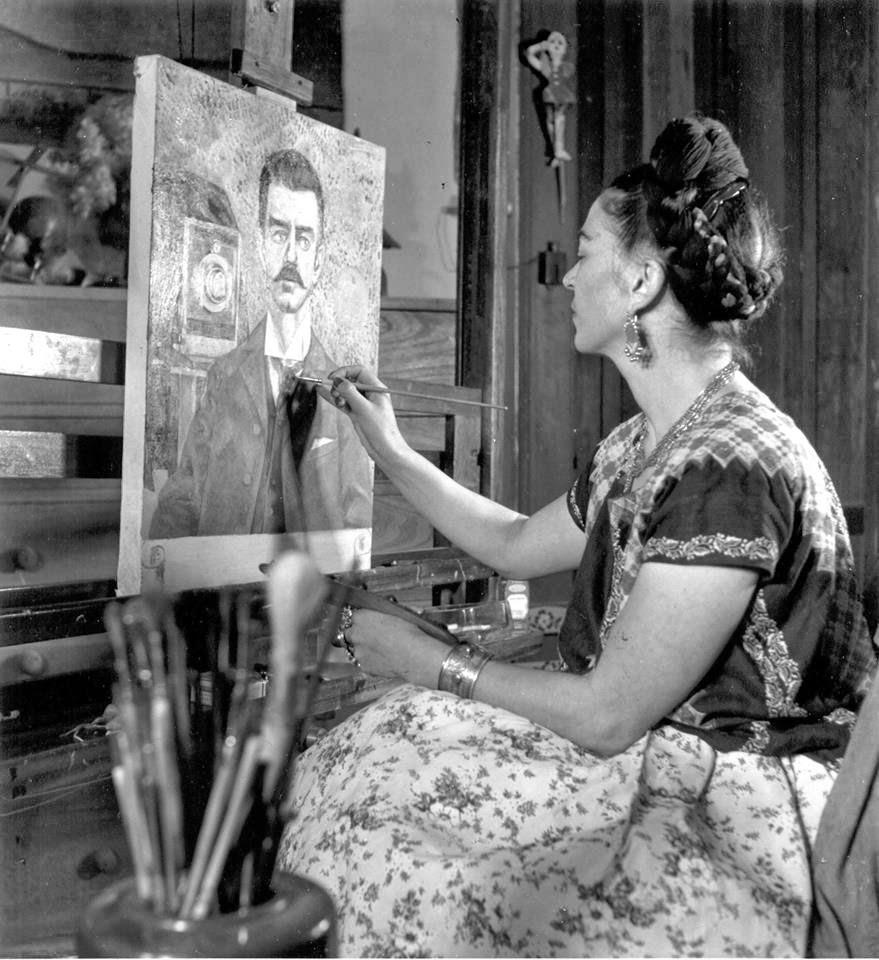 Frida Kahlo en acción
