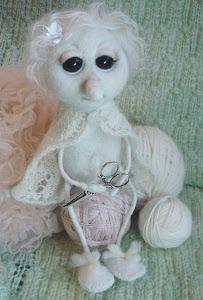 Прелестный персонаж - Белая моль