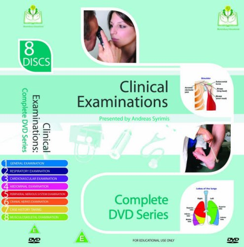Clinical Examinations Videos- Complete DVD Series for MRCP and MRCGP Clinical+examination+8+disks