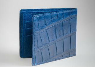 classic crocodile wallet