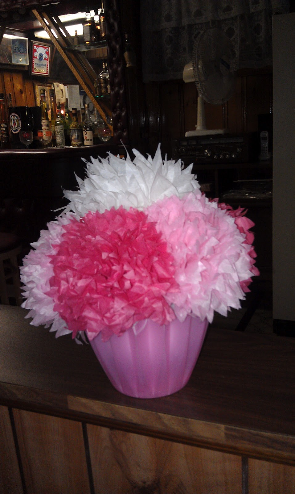 Tissue Paper Flowers Sweets And Treats