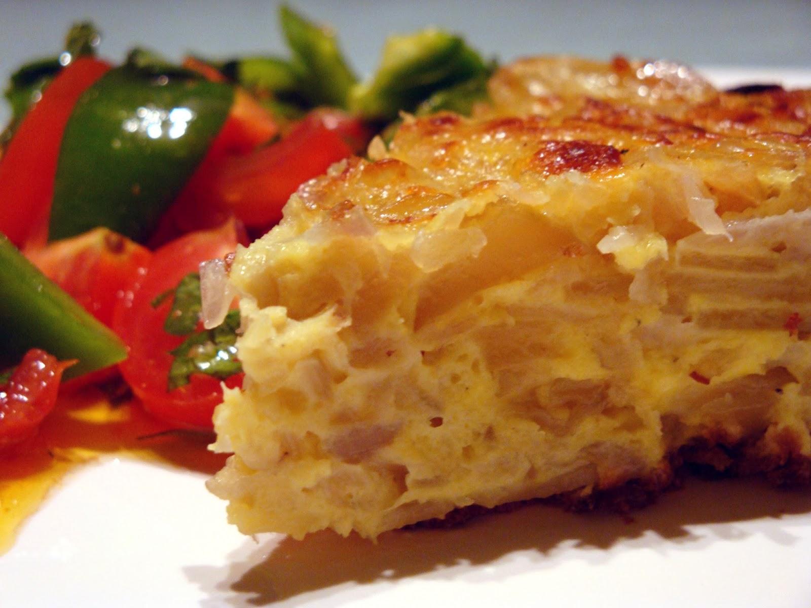 AIL Madrid - Spanisch Sprachschule : Spanisches Omelett Rezept