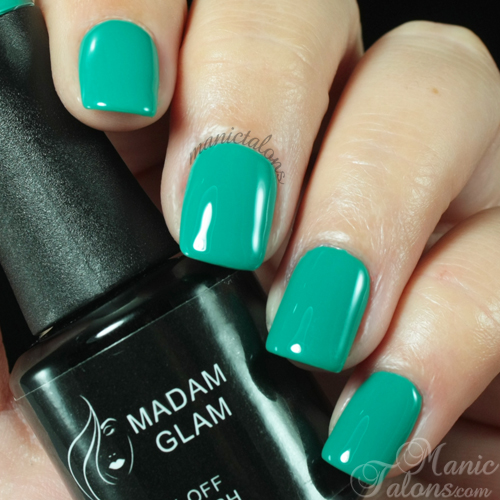 Madam Glam Gel Polish Sky is the Limit Swatch