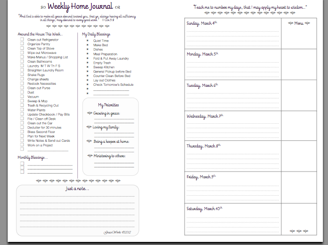 Prayer Journal Template | out-of-darkness