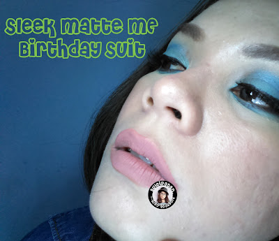 Trend Lipstik Liquid - Sleek Matte Me - Swatch Birthday Suit