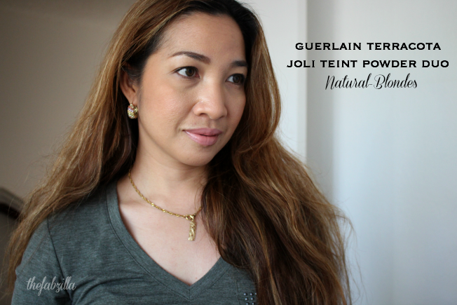 Guerlain Terracotta Joli Teint Powder Duo, 02 Natural/Blondes, Review, Swatch, Guerlain Beauty Summer 2015, How to J Lo Glow
