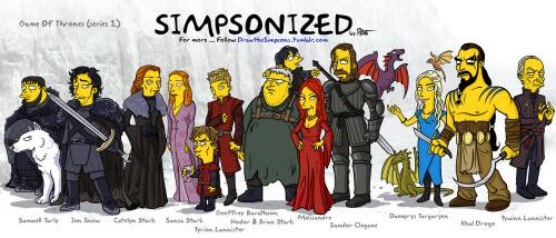 Game of Thrones... Simpsonized
