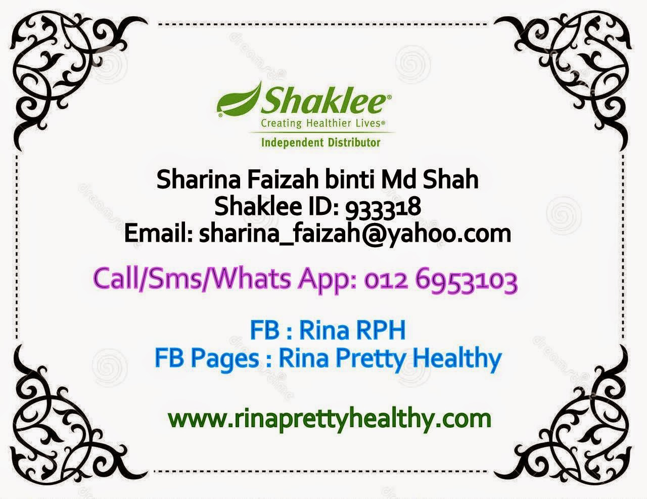 Your Shaklee Distributor
