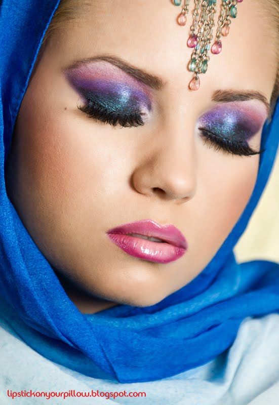 Glamour Girls Life: Arabic Wedding Makeup