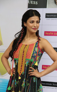 Shruti haasan new photos at haute curry fashion show