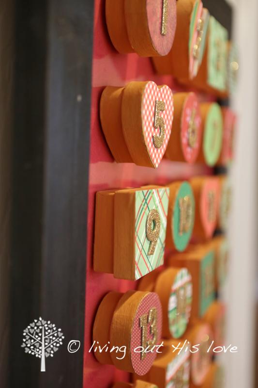 Love Calendar Diy : Living out his love diy advent calendar